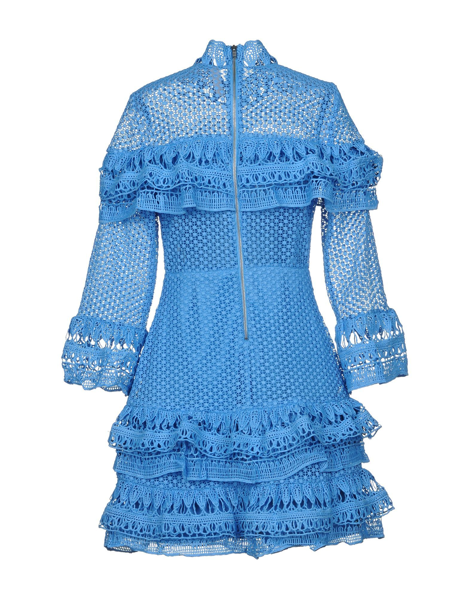 Y.A.S. Sport Azure Lace Frill Dress