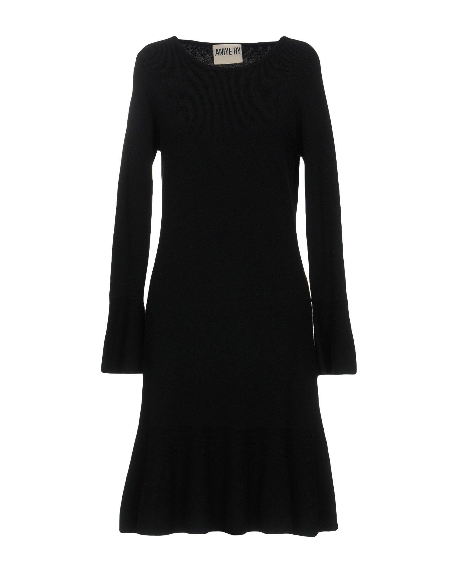 Aniye By Black Knit Long Sleeve Dress