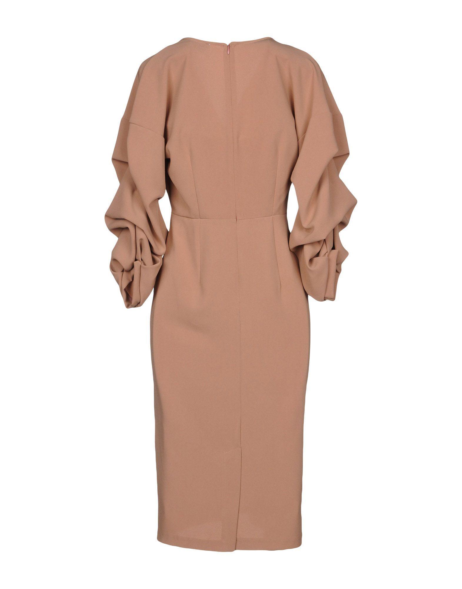 Kaos Pastel Pink Long Sleeve Dress