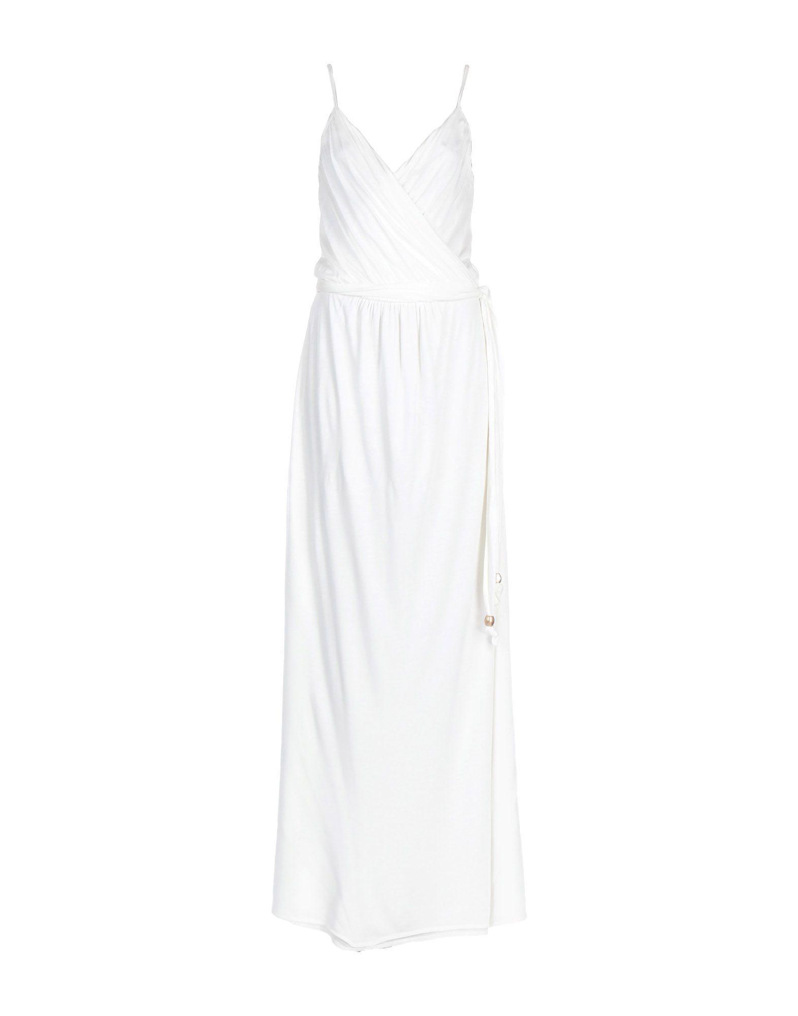 Melissa Odabash White Modal Full Length Dress