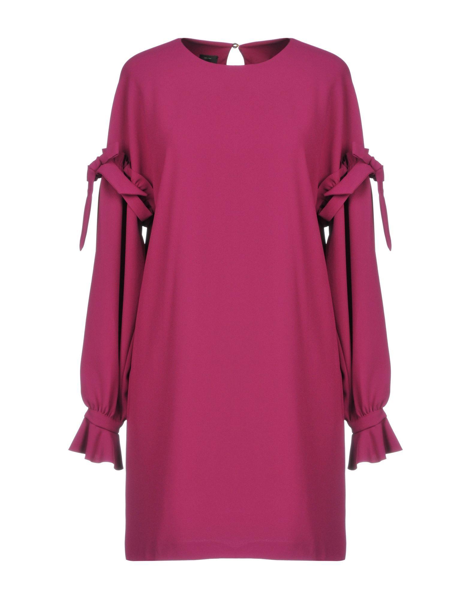 Pinko Mauve Long Sleeve Dress