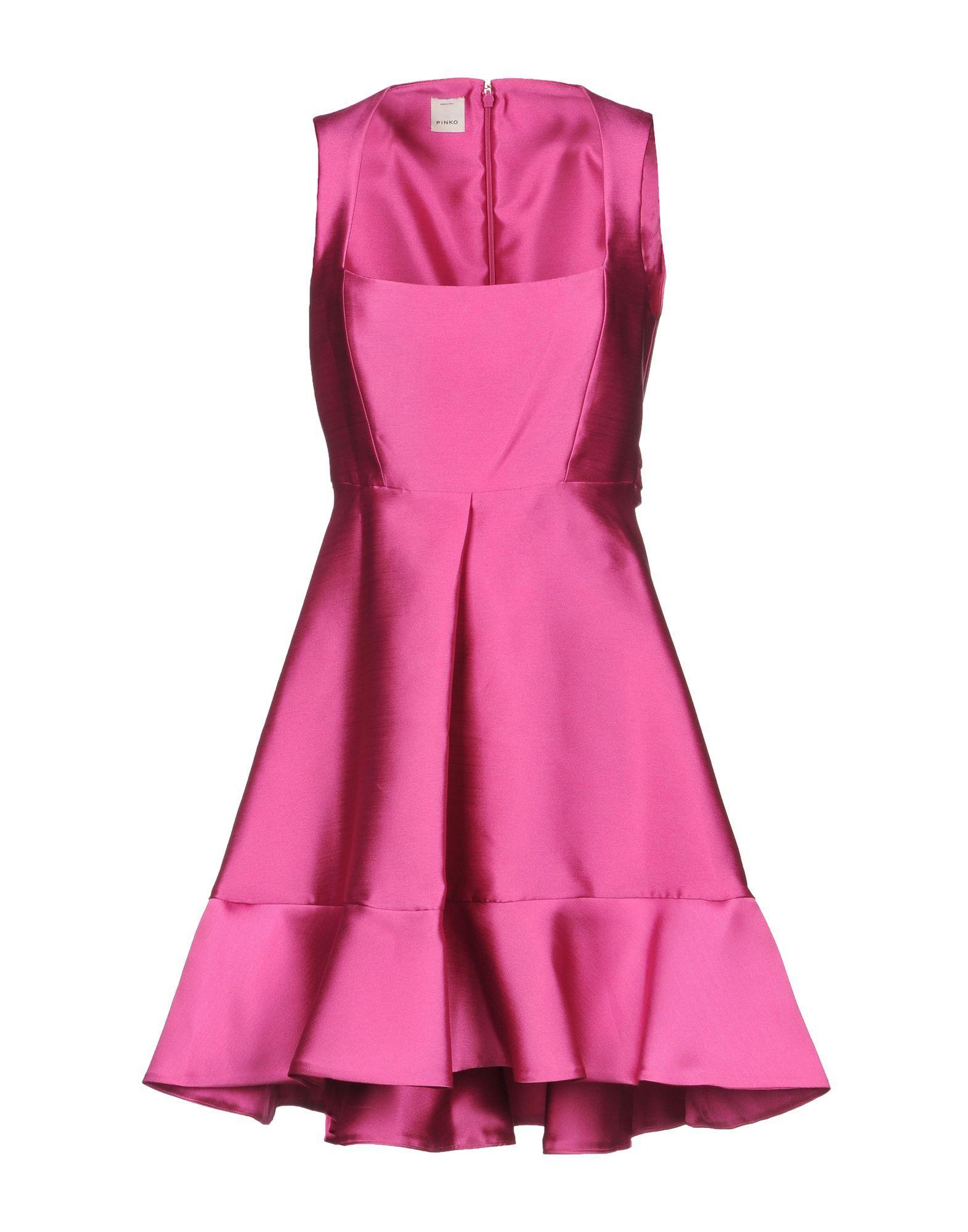 Pinko Fuchsia Short Dress