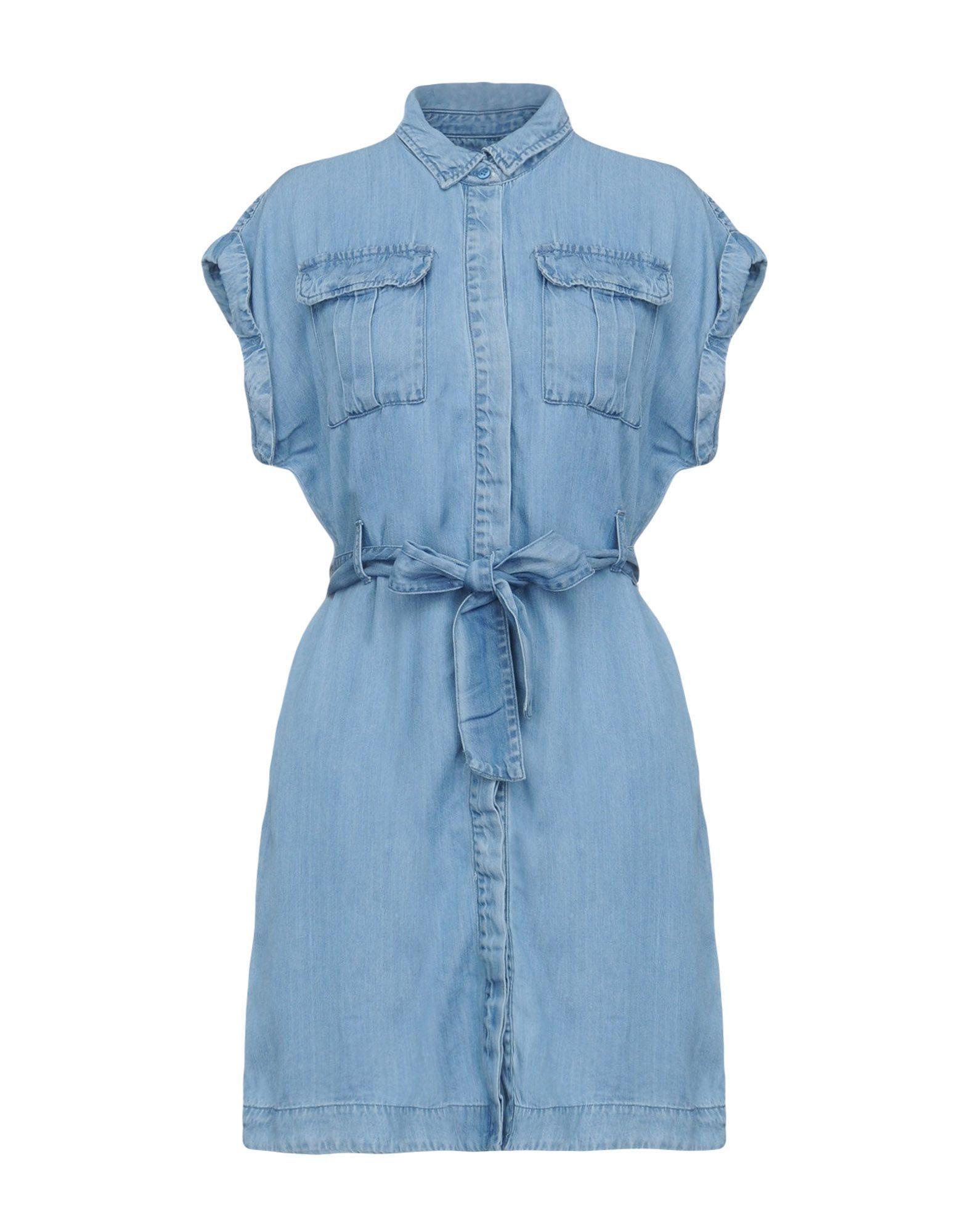 Vero Moda Blue Shirt Dress