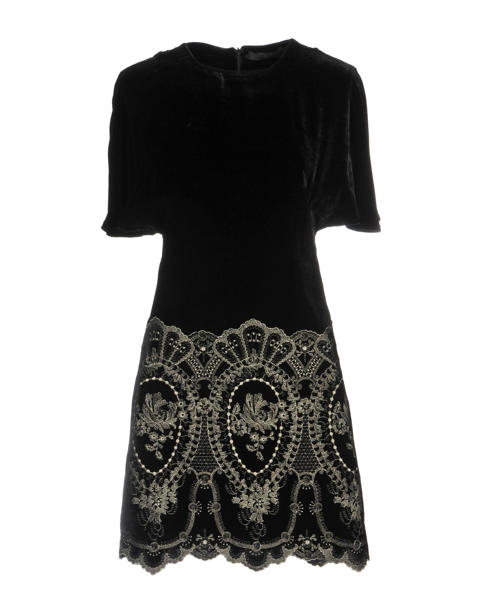 Plein Sud Black Short Sleeve Dress