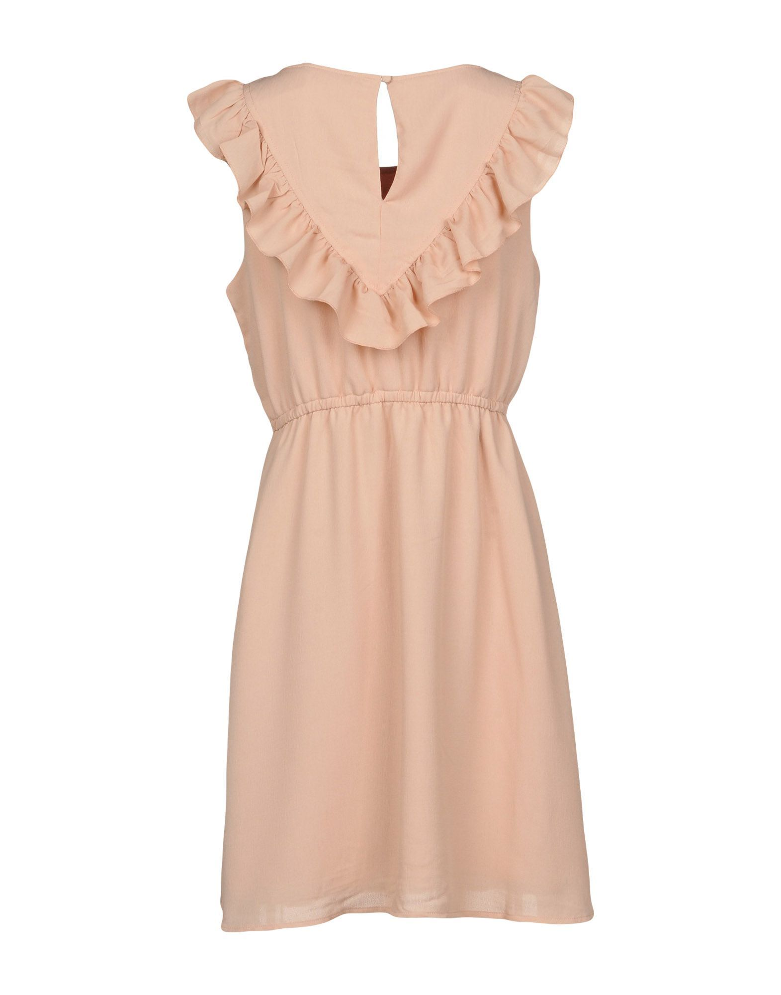 Only Pale Pink Ruffle Short Dress
