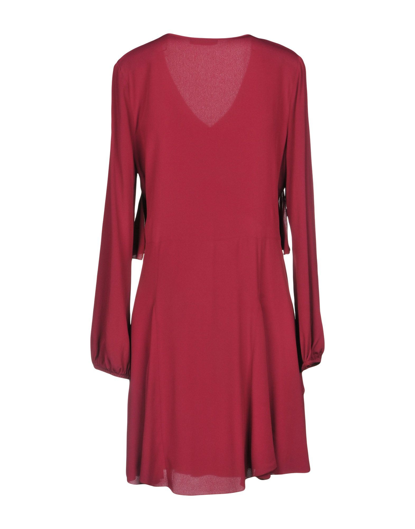 DRESSES Carla G. Mauve Woman Acetate