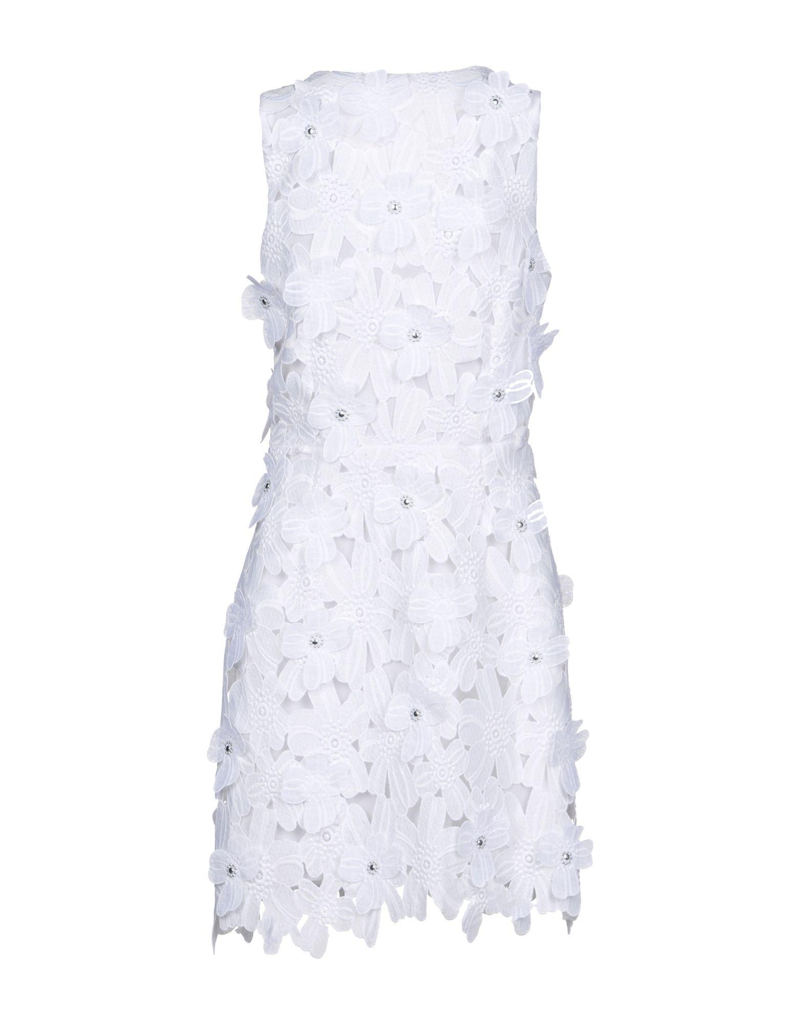 Dress Michael Michael Kors White Women's Polyester