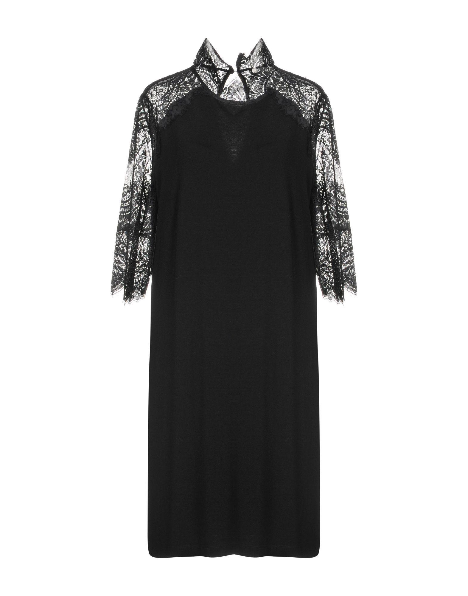 Twinset Black Lace Dress