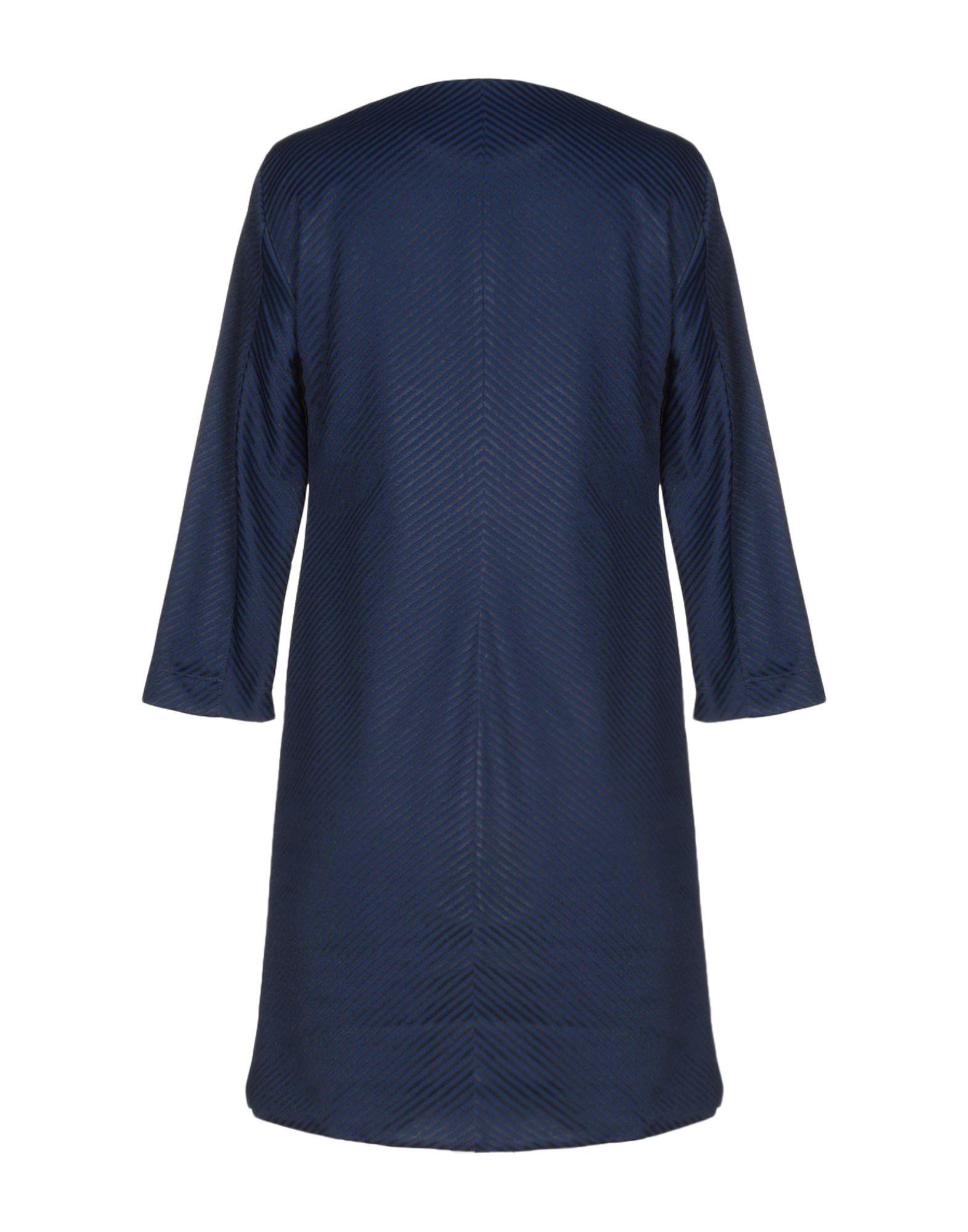 Dress Peter A & Chronicles Dark Blue Women's Wool