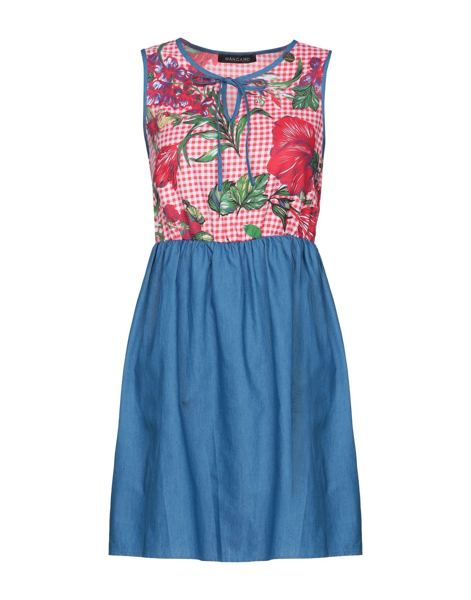 DRESSES Woman Mangano Red Cotton