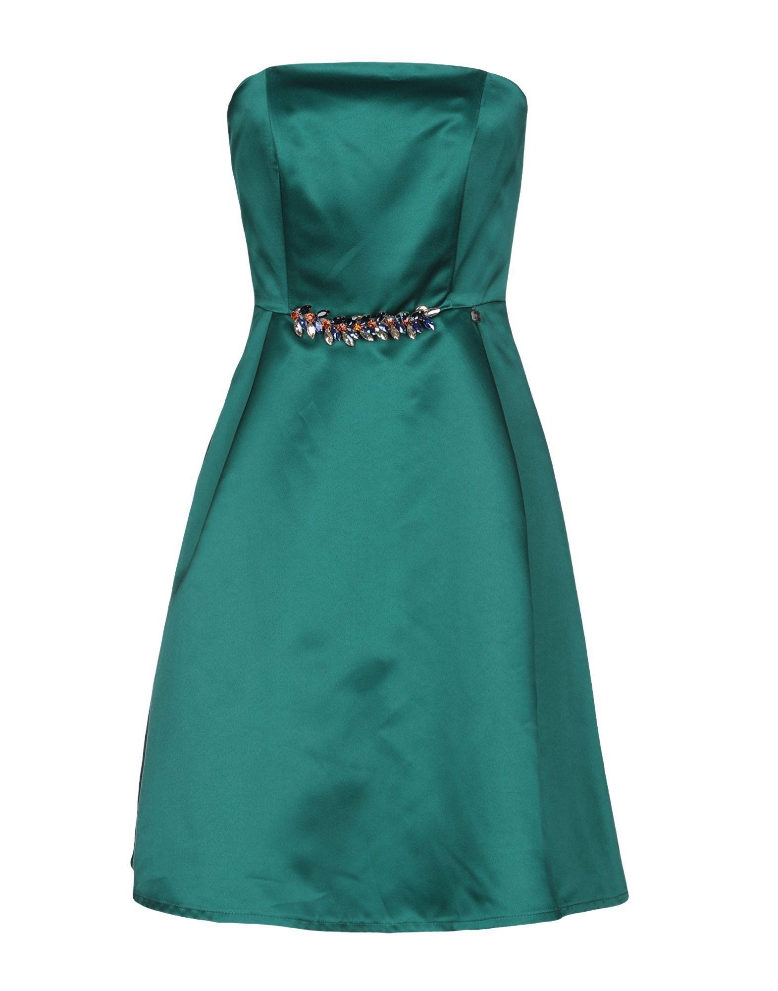 DRESSES Relish Green Woman Polyester