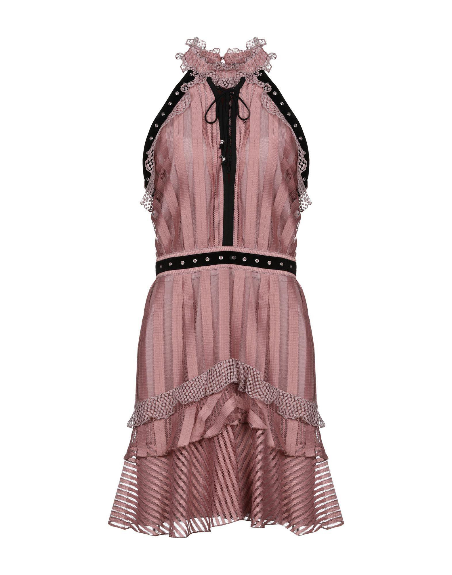 Just Cavalli Dove Grey Short Dress