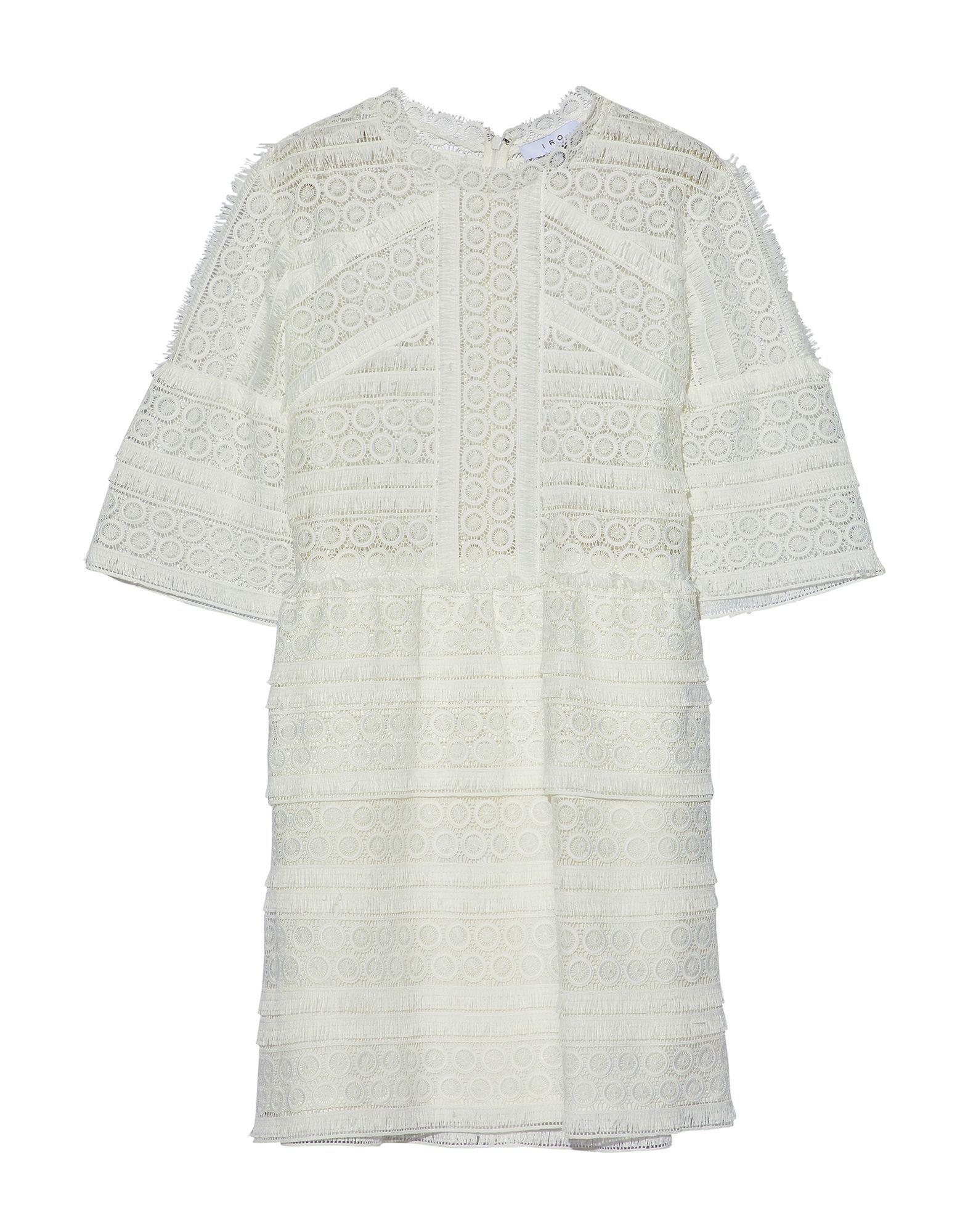 Iro White Lace Dress