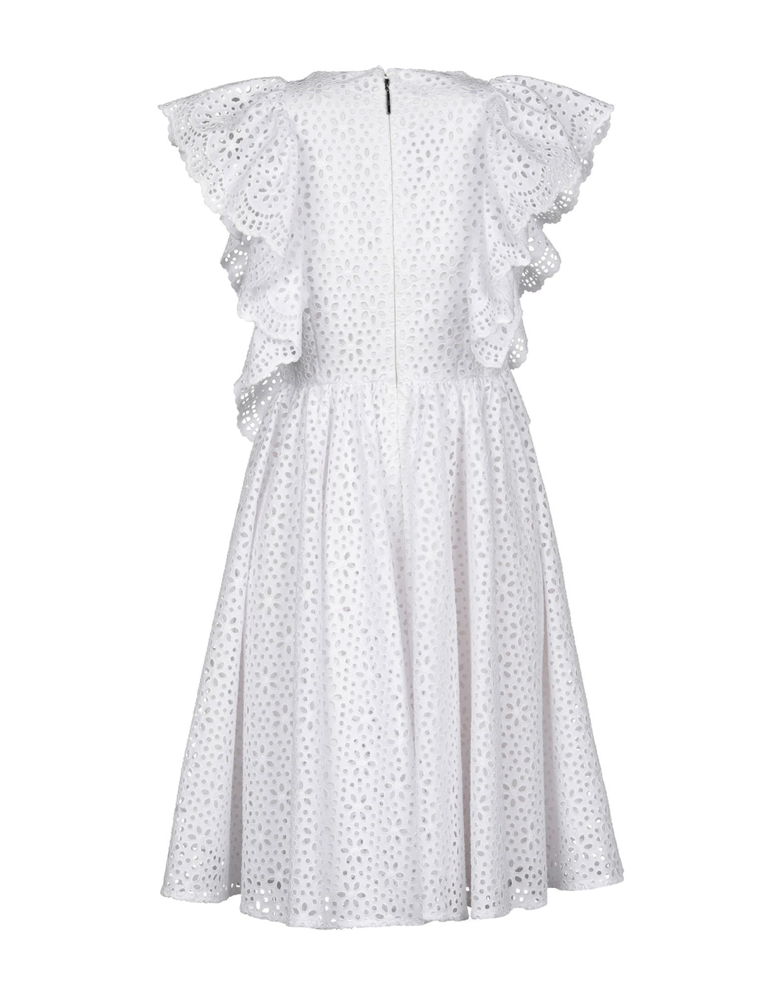 MSGM White Cotton Dress