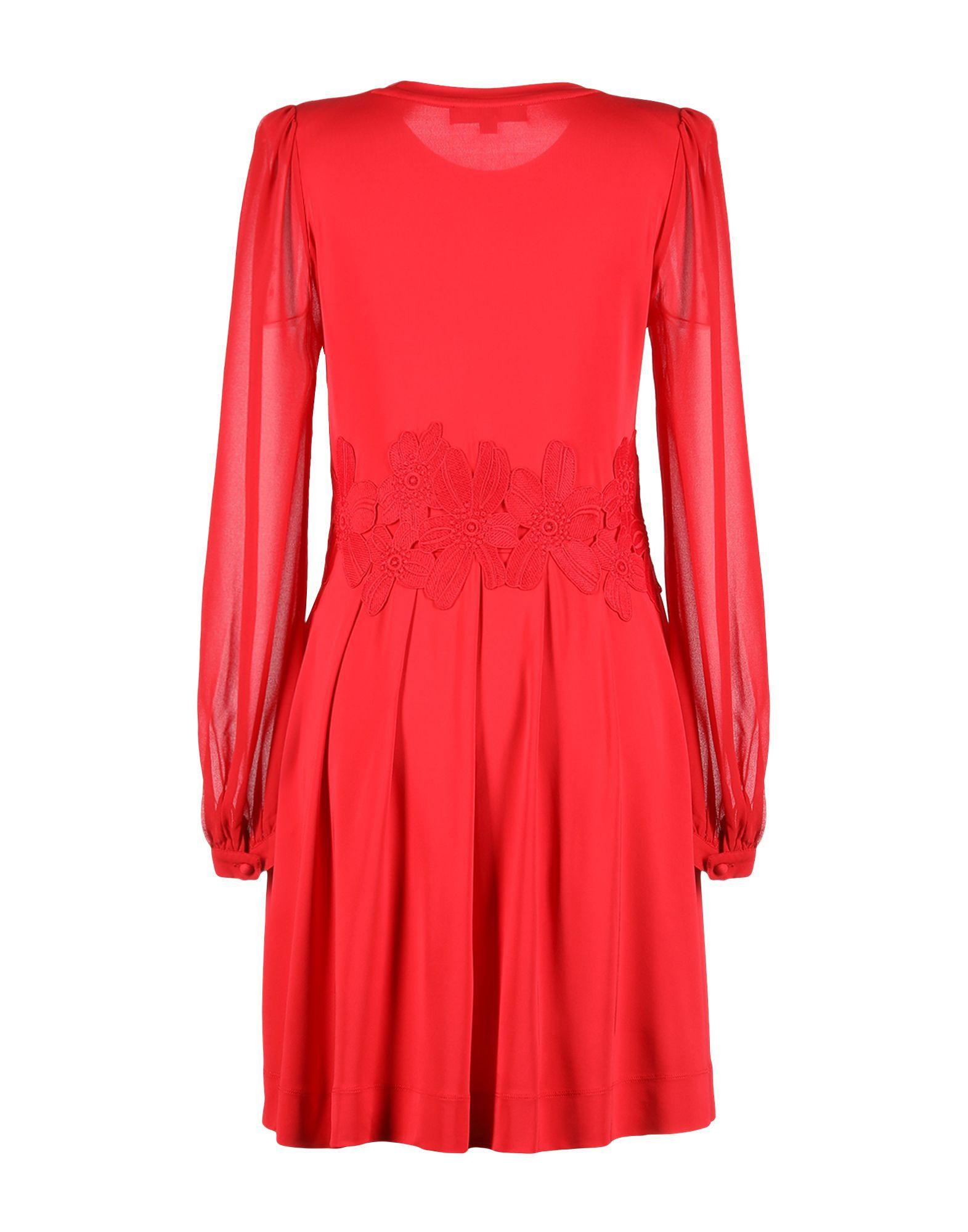 DRESSES Michael Michael Kors Red Woman Viscose