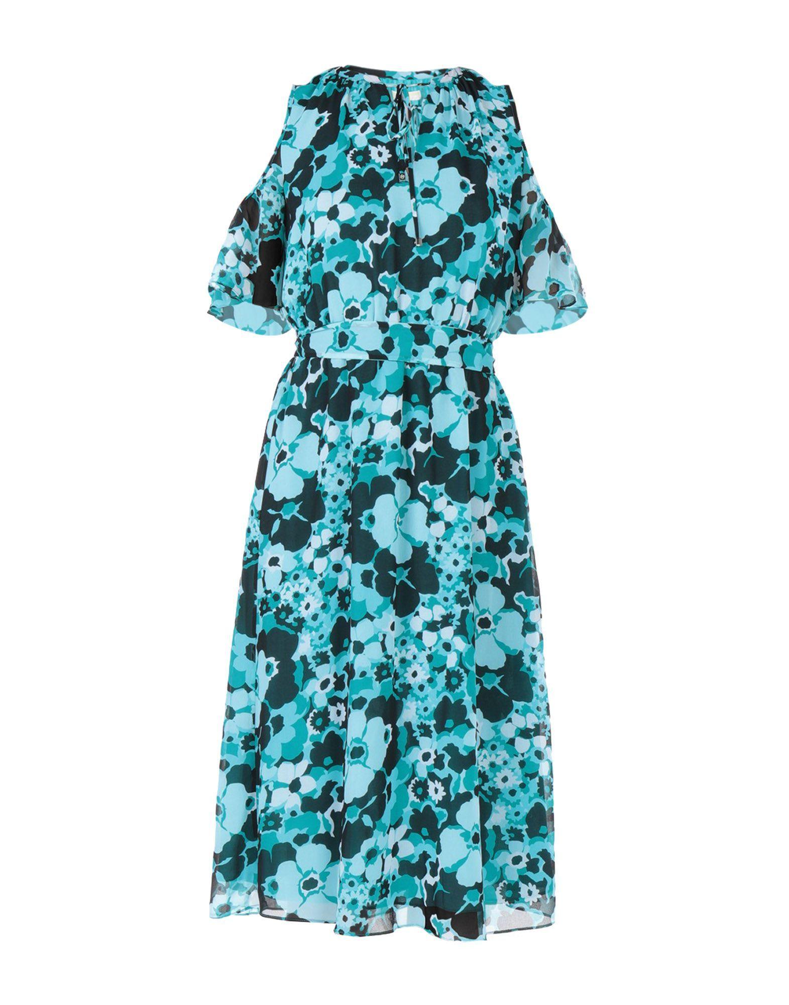 DRESSES Michael Michael Kors Turquoise Woman Polyester