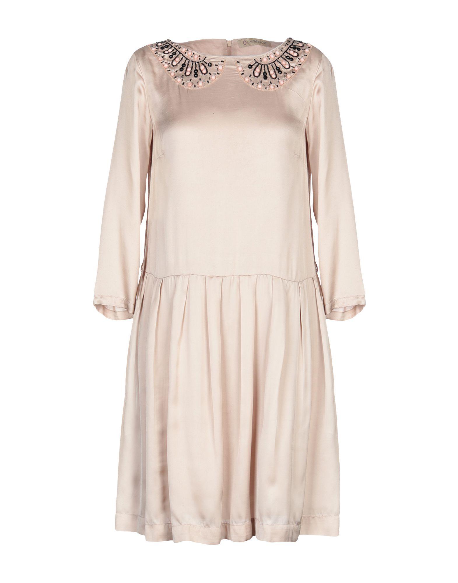 DRESSES Woman L' Autre Chose Sand Viscose