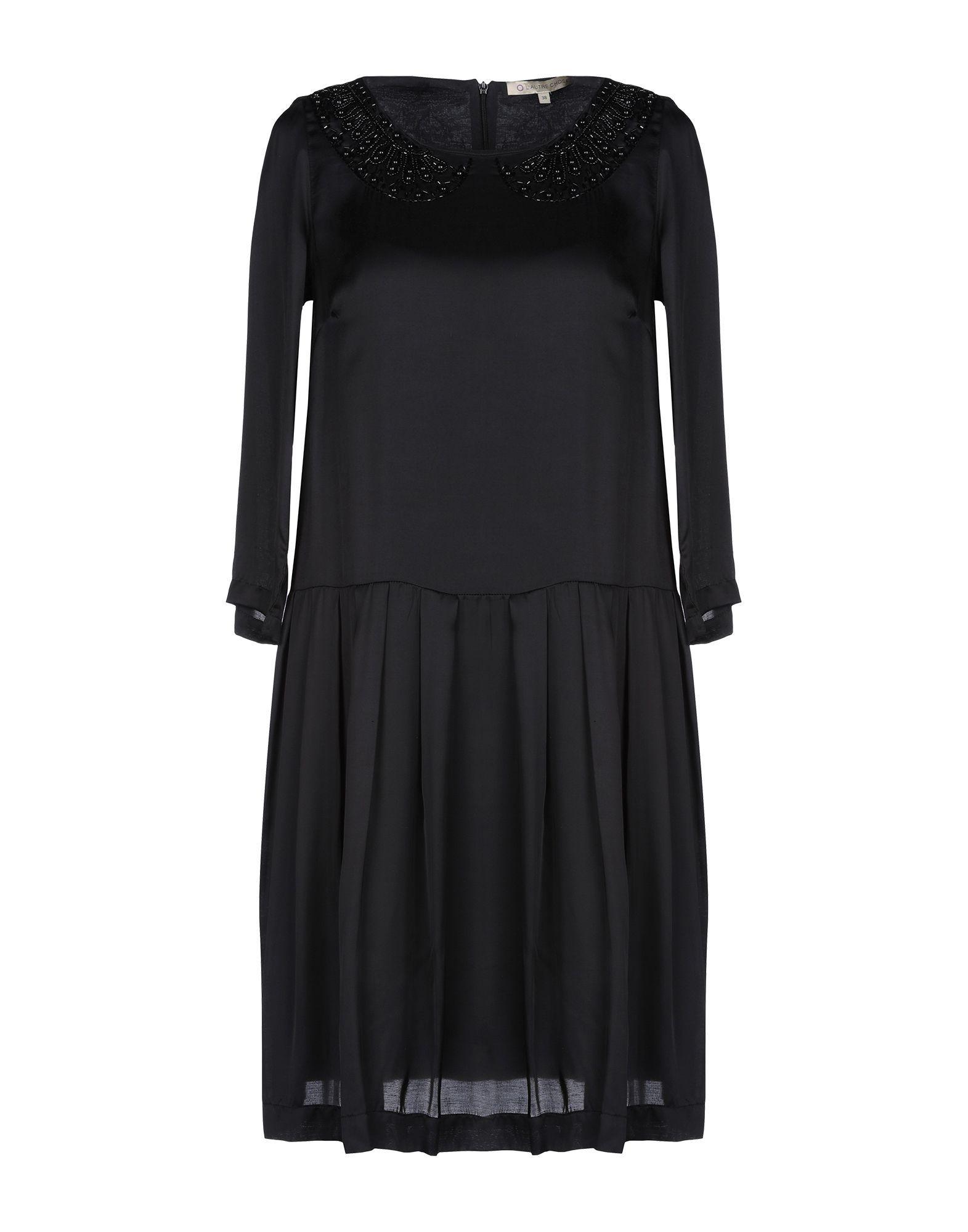 DRESSES Woman L' Autre Chose Black Viscose