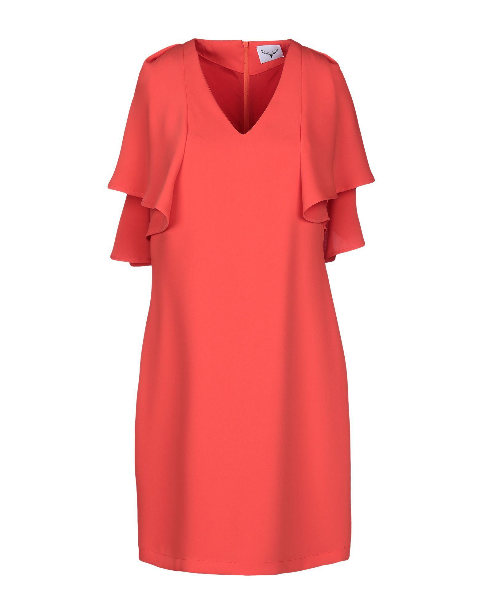 Dress Leitmotiv Orange Women's Polyester