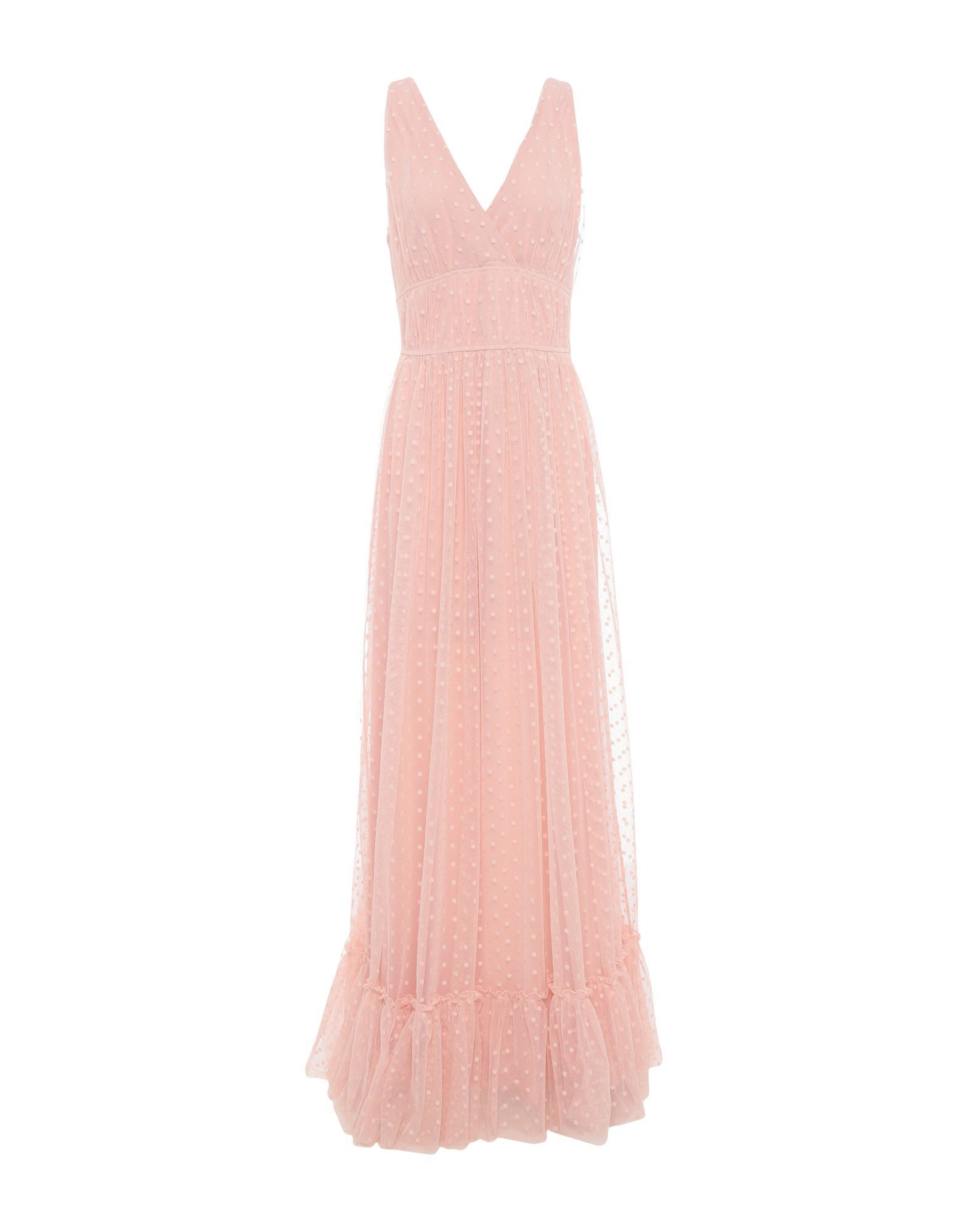 Rue 8Isquit Pale Pink Full Length Dress