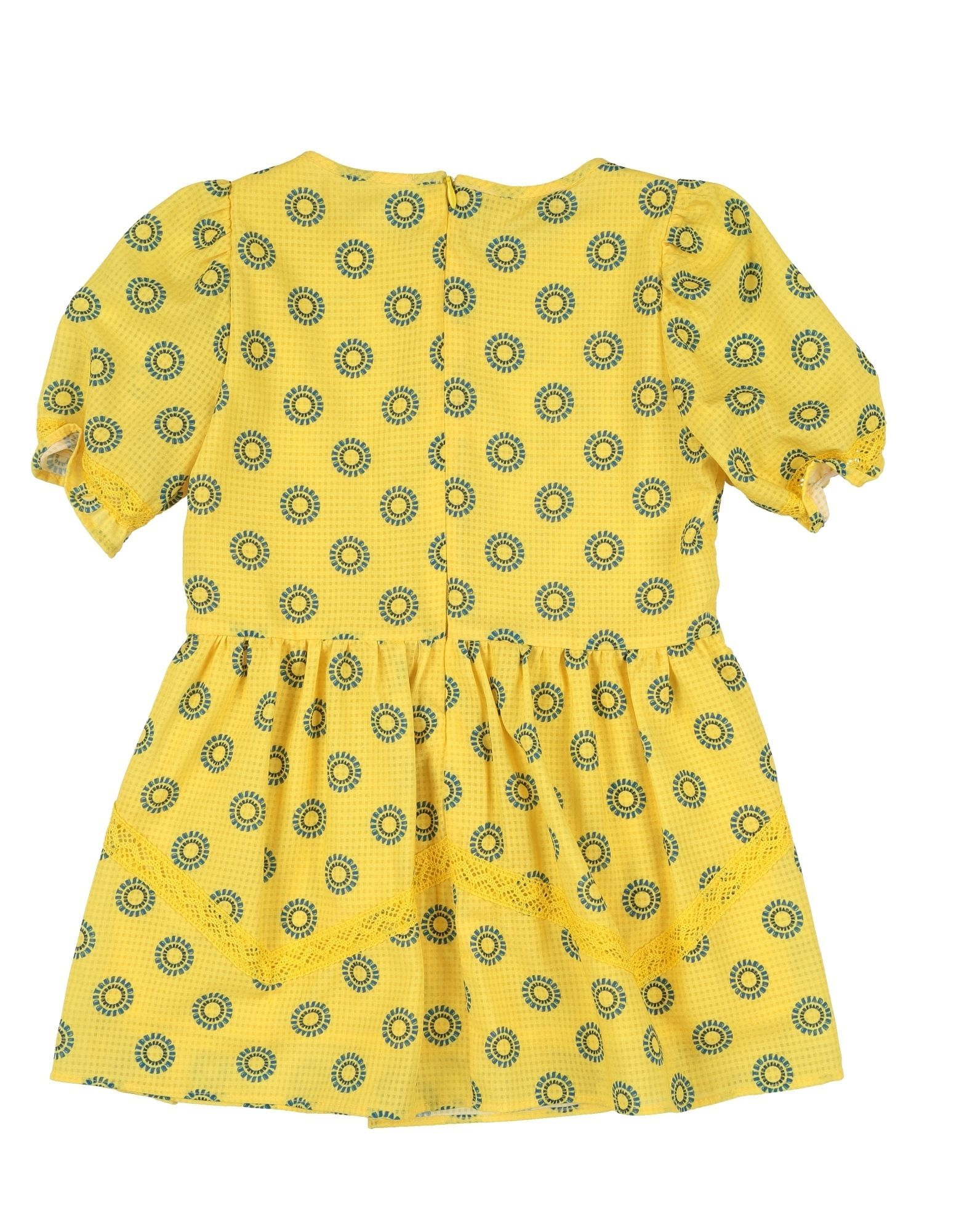 DRESSES Girl Trussardi Junior Yellow Polyester