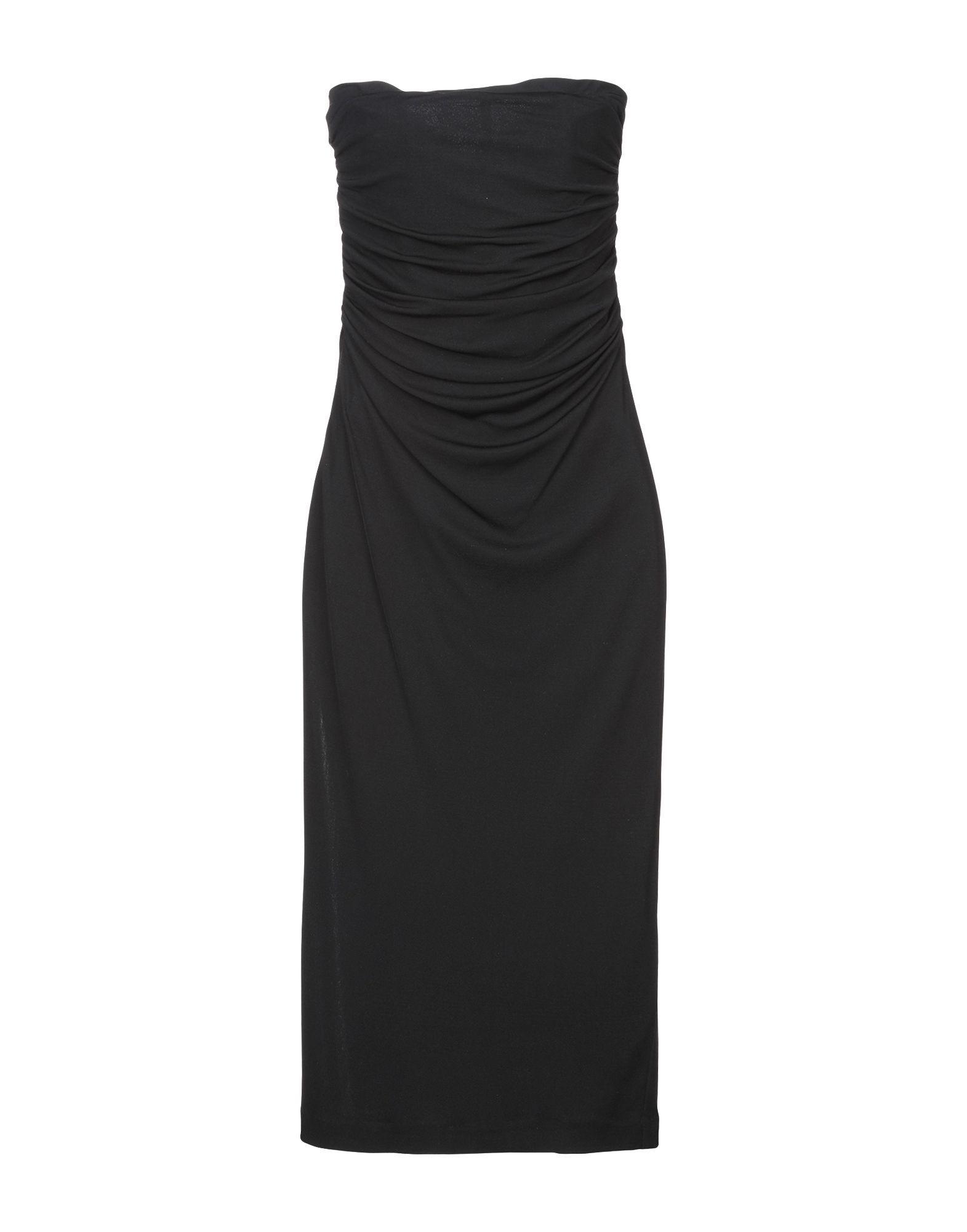 DRESSES Woman Giambattista Valli Black Silk