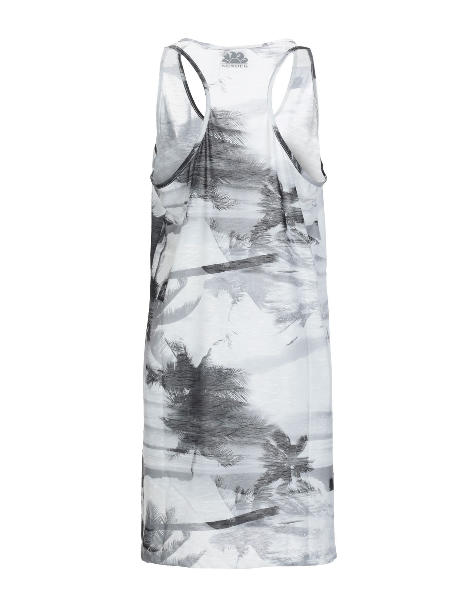 Sundek Light Grey Print Dress