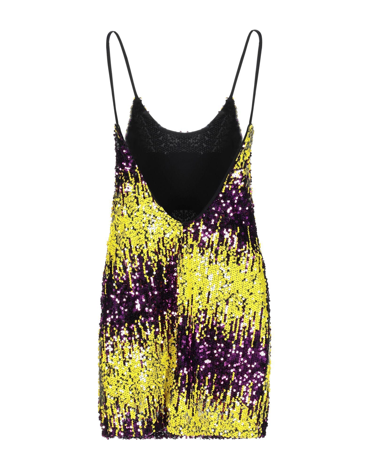 DRESSES Odi Et Amo Yellow Woman Polyester