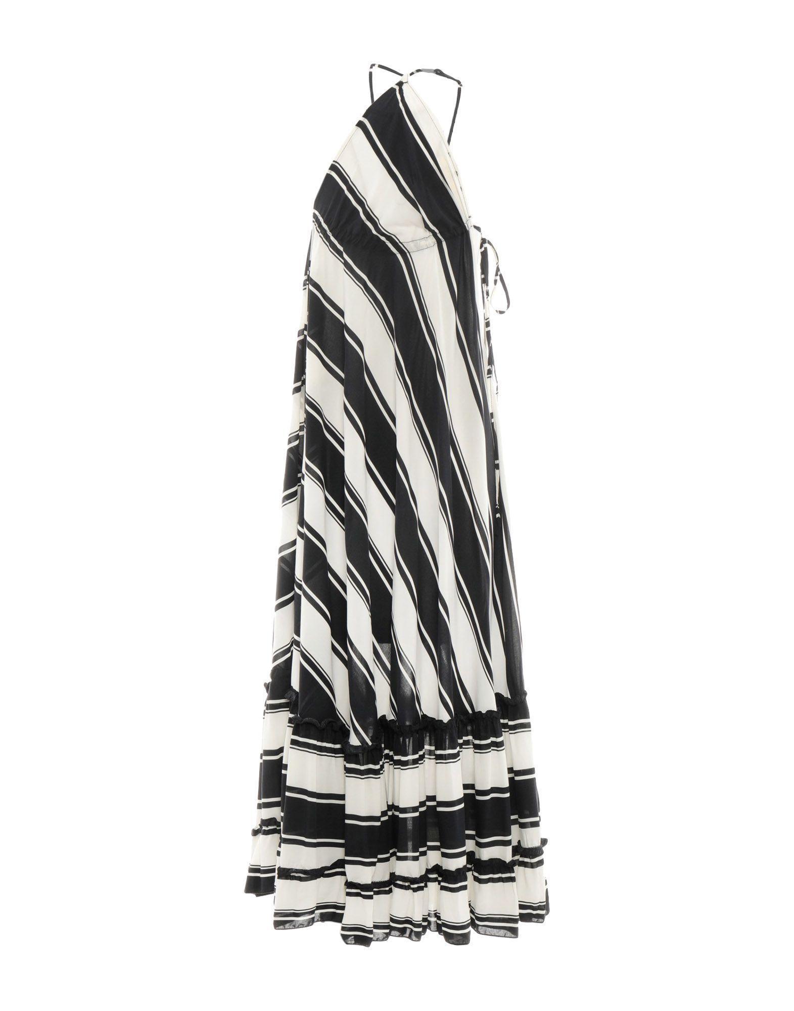 Vicolo Monochrome Full Length Dress
