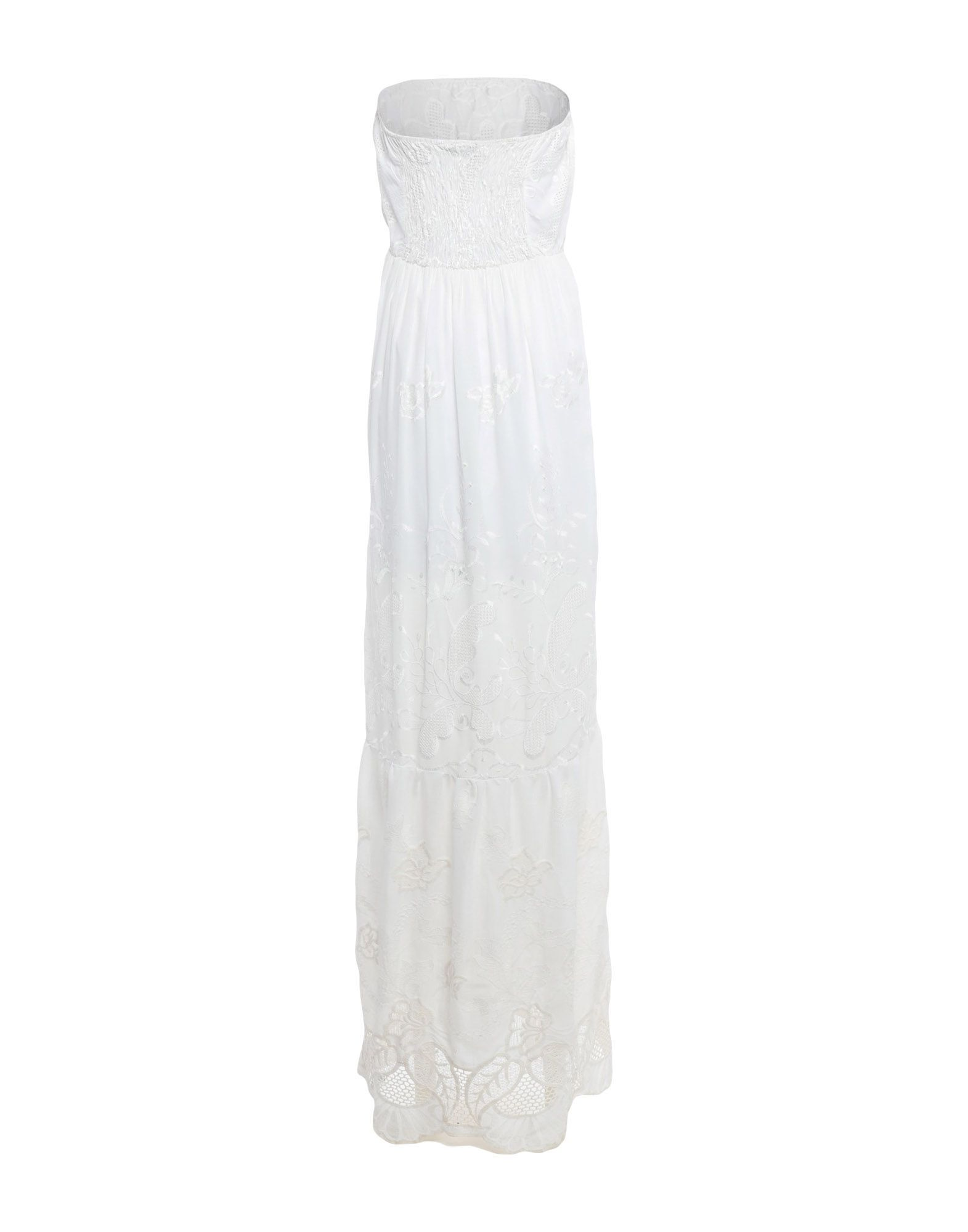 Fracomina White Full Length Dress