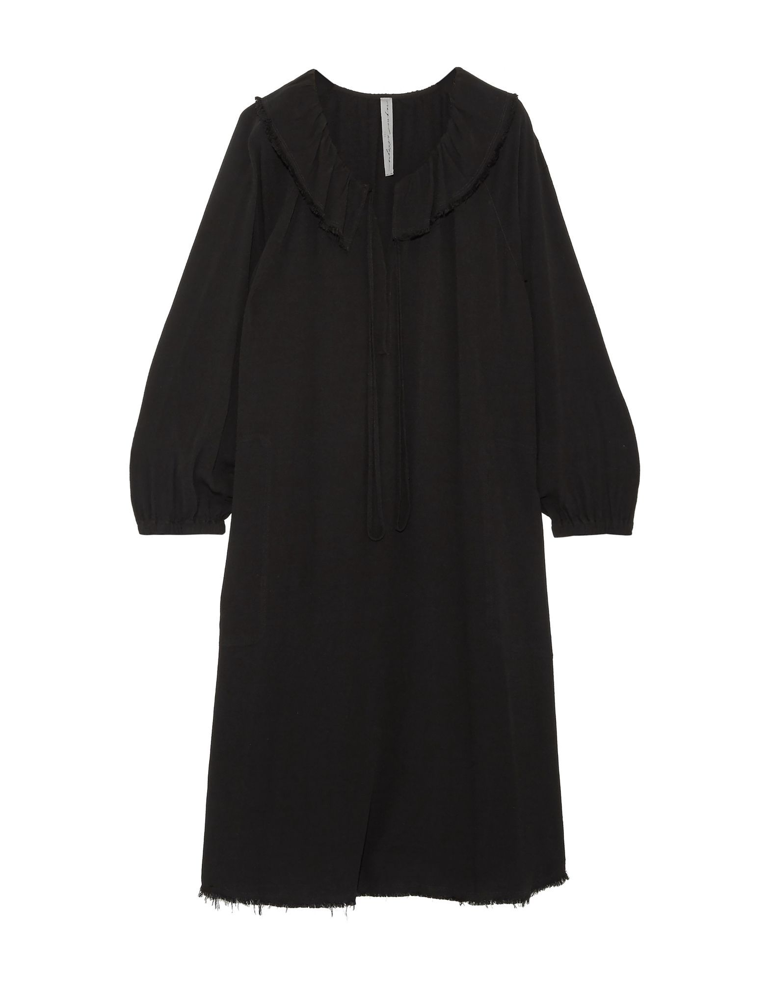 DRESSES Woman Raquel Allegra Black Rayon