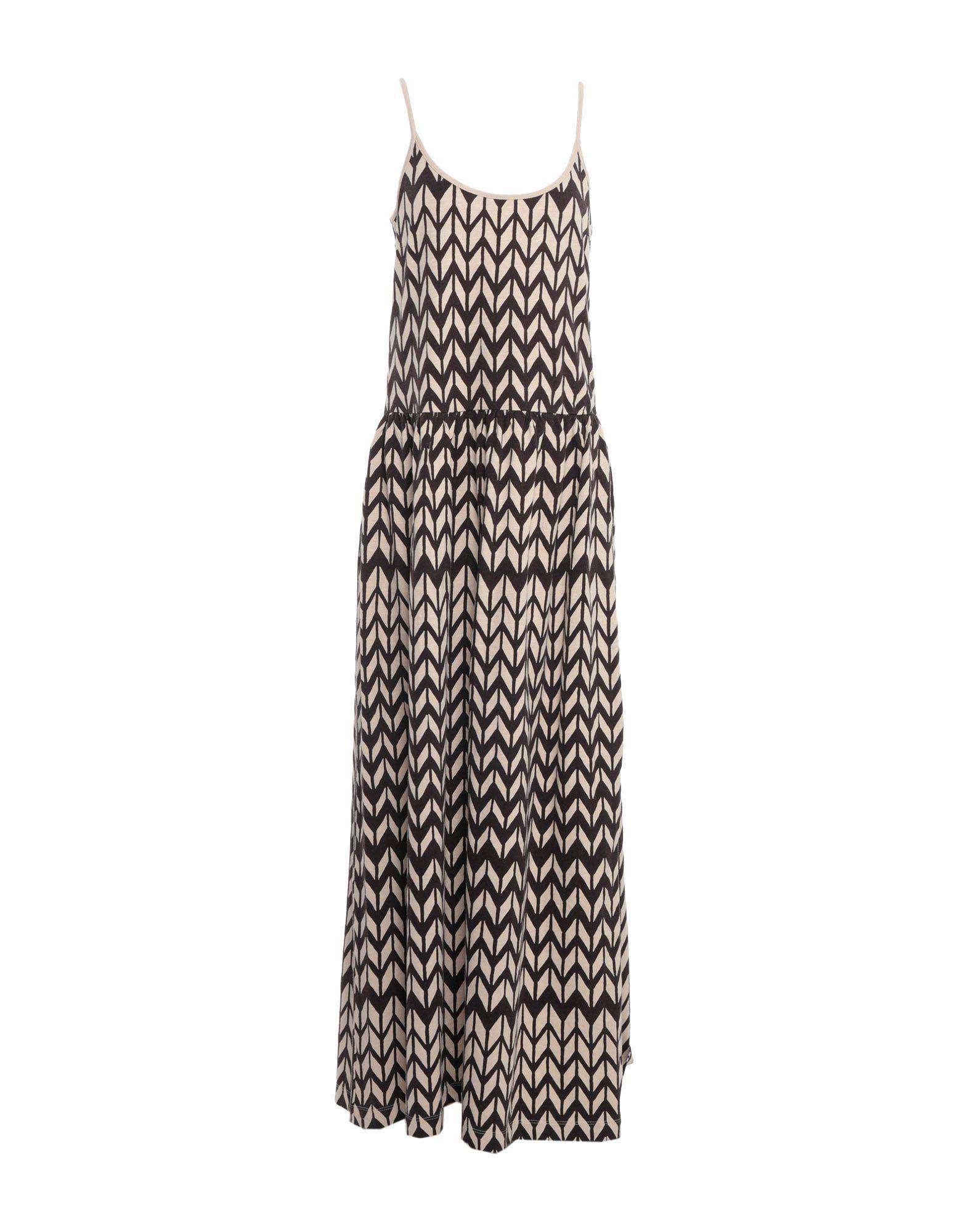 Woolrich Dark Brown Print Cotton Dress