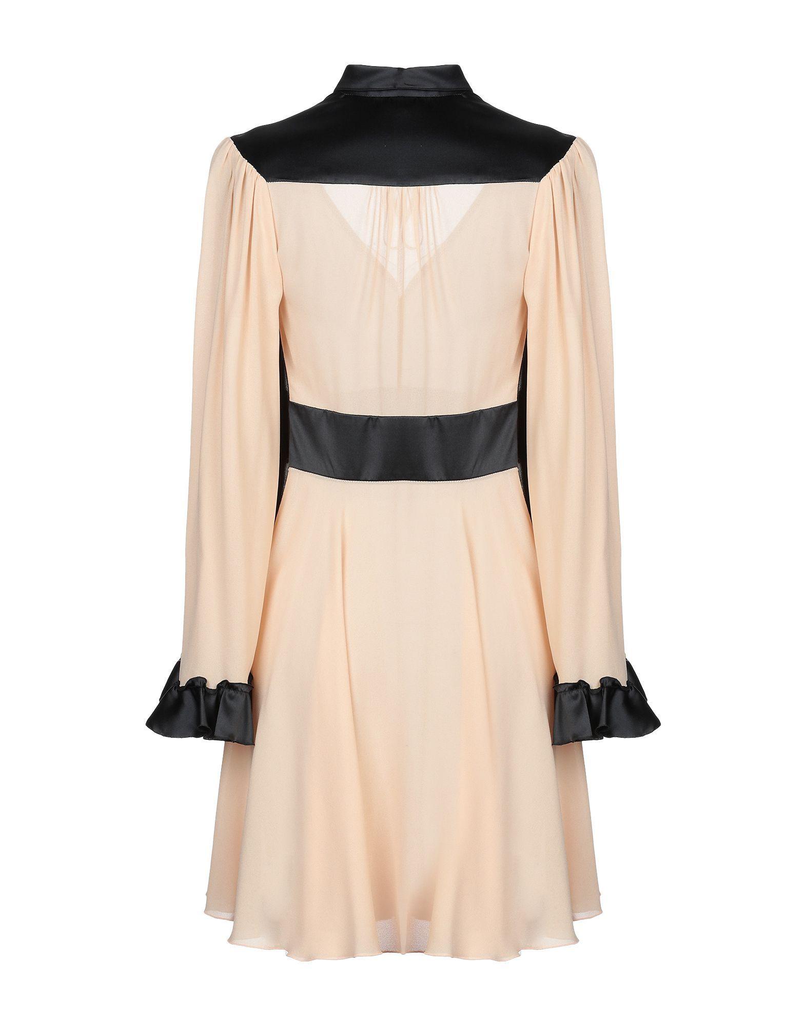 Giamba Pastel Pink Two Tone Shirt Dress