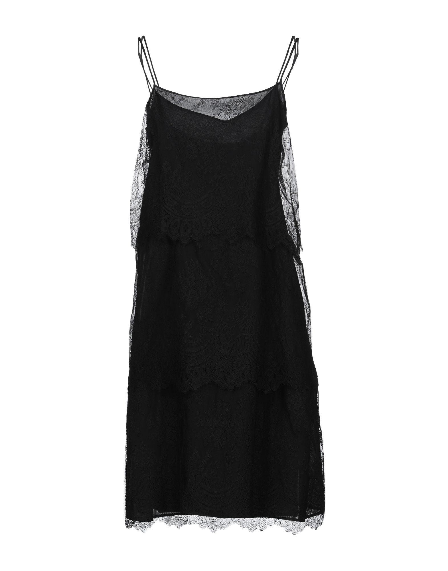 DRESSES Woman Alessandro Dell'Acqua Black Polyamid