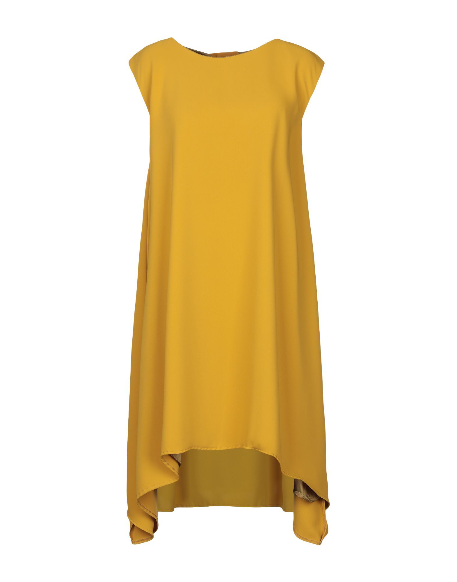 DRESSES Annie P. Ochre Woman Polyester