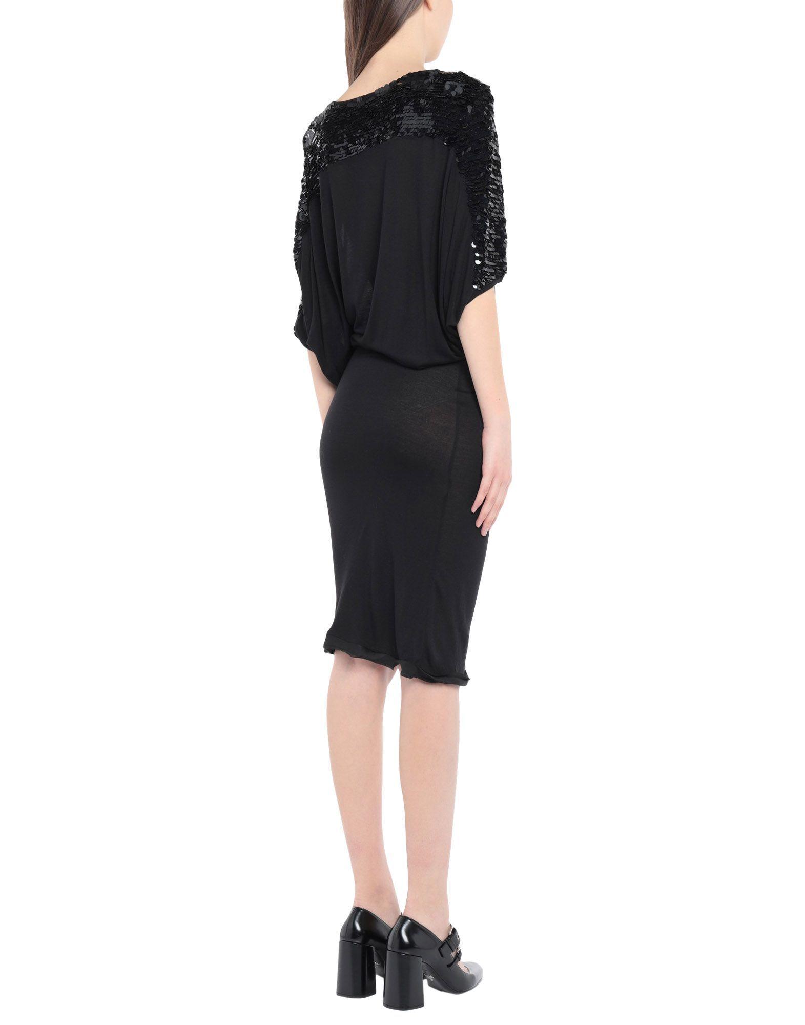DRESSES Woman Lanvin Black Viscose