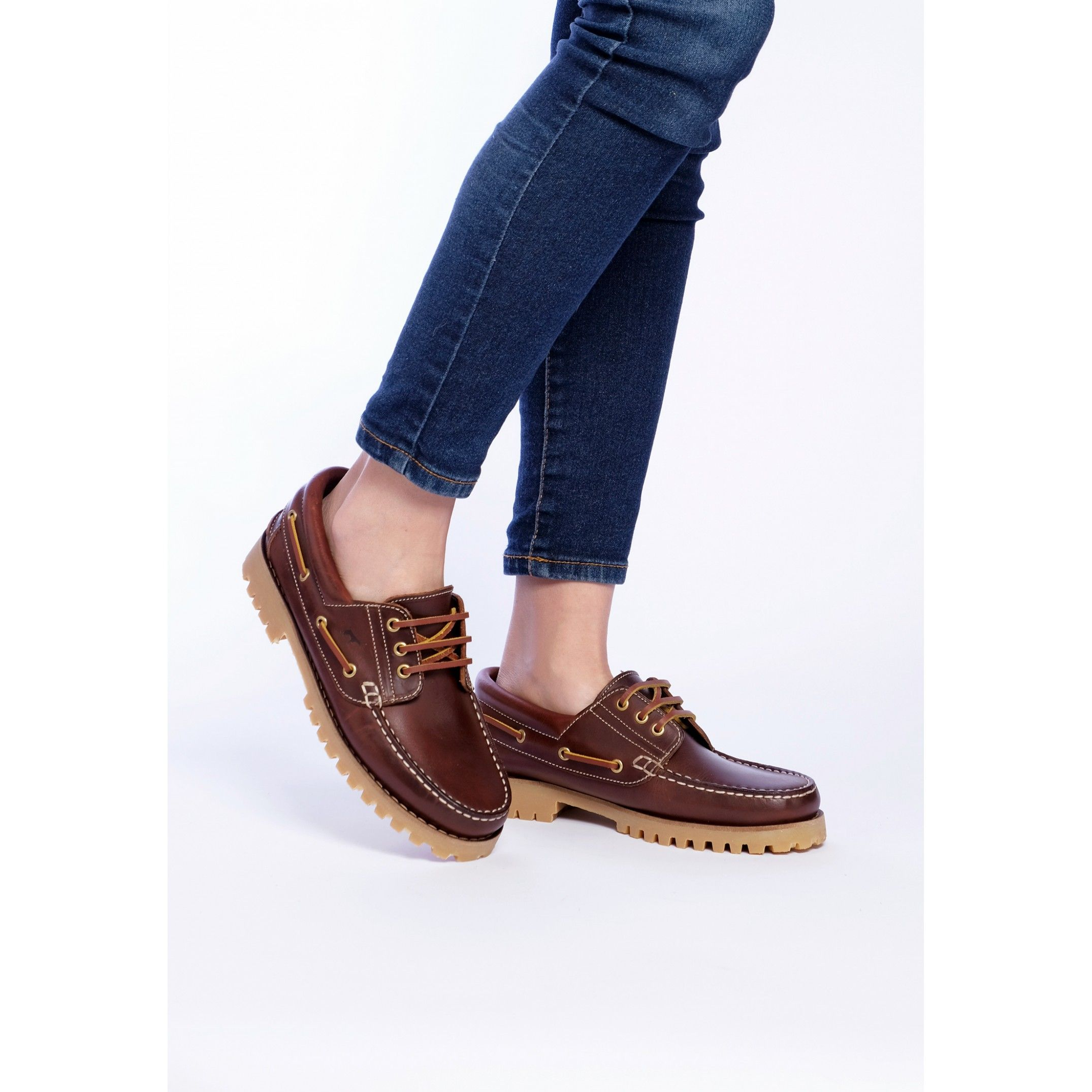 Leather Boat Shoes for Women Castellanisimos Comfort High Quality Shoe