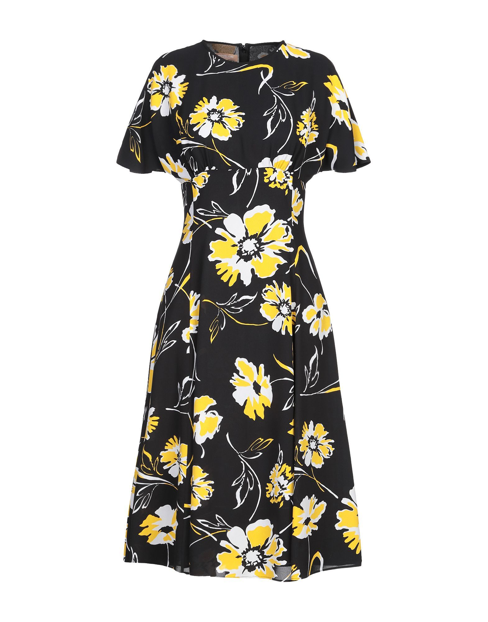 Dress Michael Kors Collection Black Women's Silk