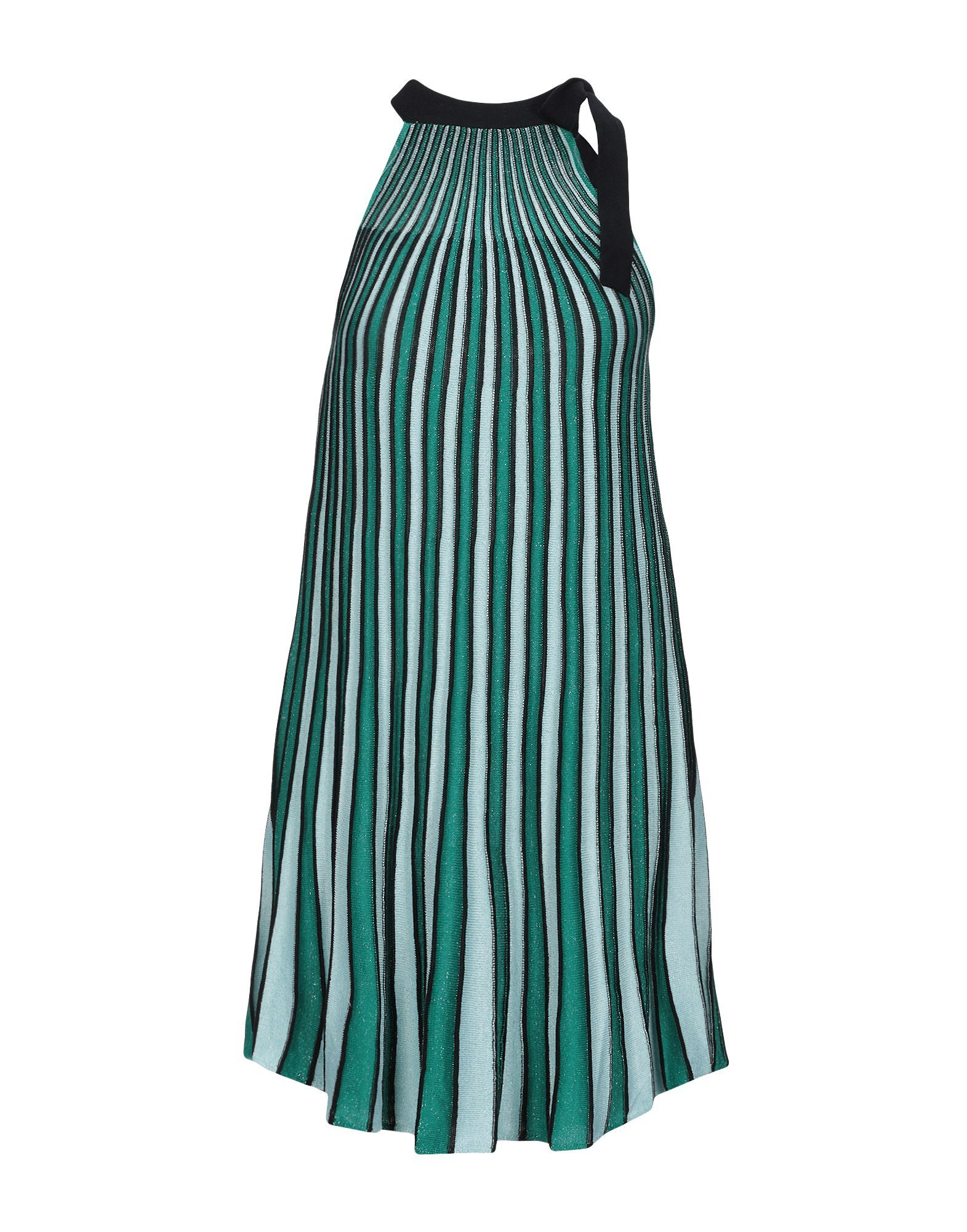 Only Green Stripe Sleeveless Dress