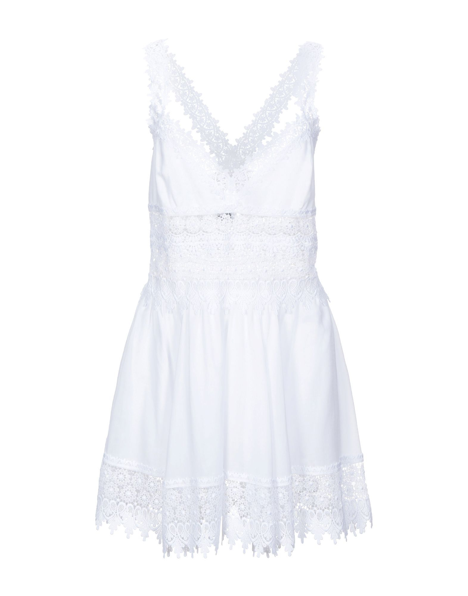 DRESSES Charo Ruiz Ibiza White Woman Cotton