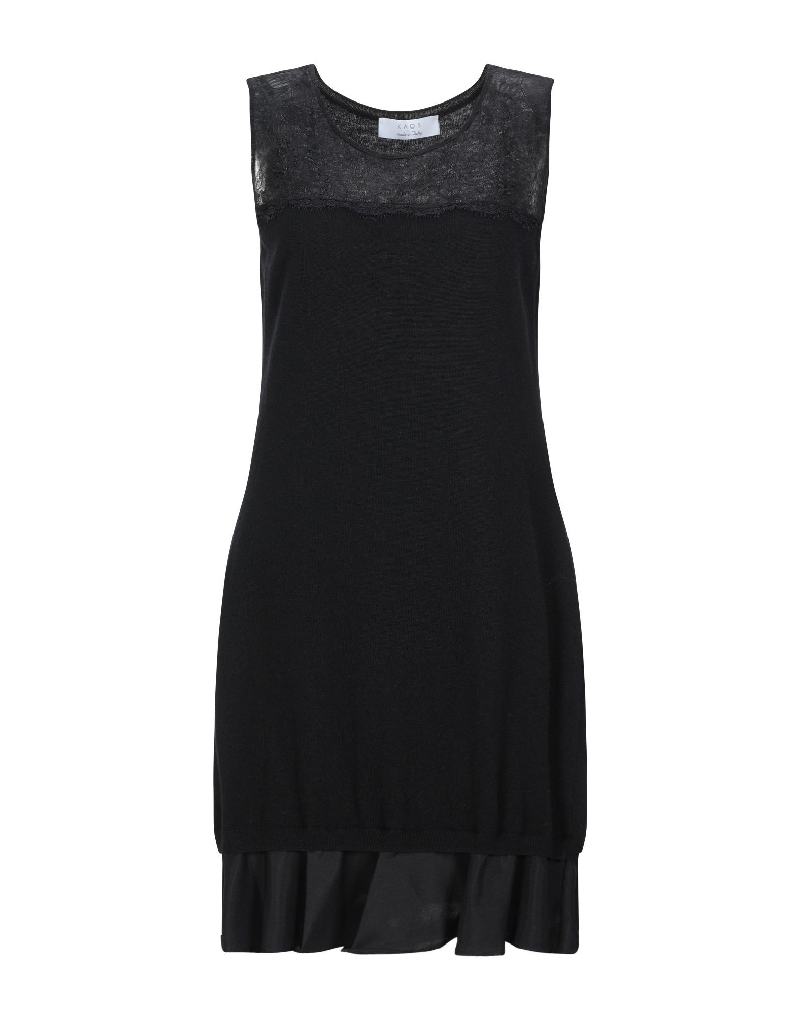 DRESSES Kaos Black Woman Viscose