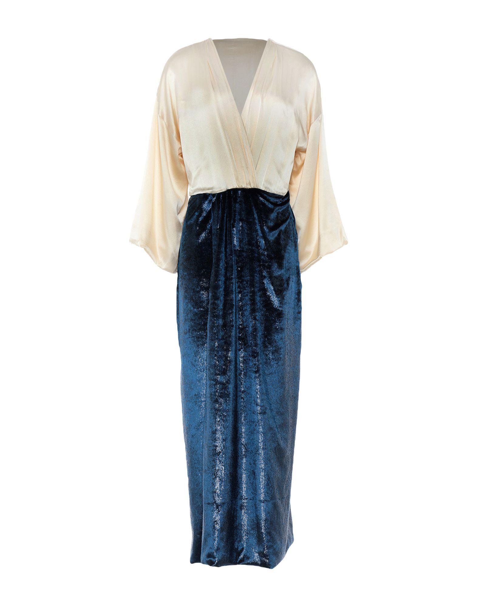 L' Autre Chose Ivory Silk Dress