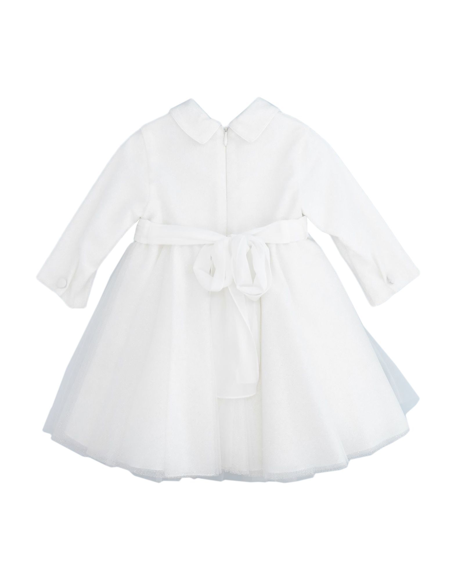 Aletta Girls' White Cotton Dress