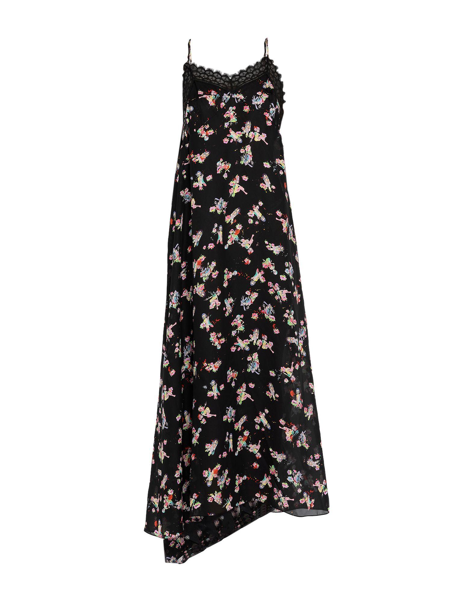 DRESSES Woman Maison Margiela Black Silk