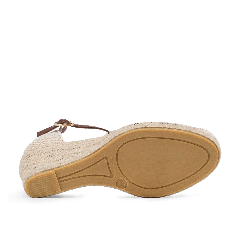 María Barceló Ankle Strap Sandals