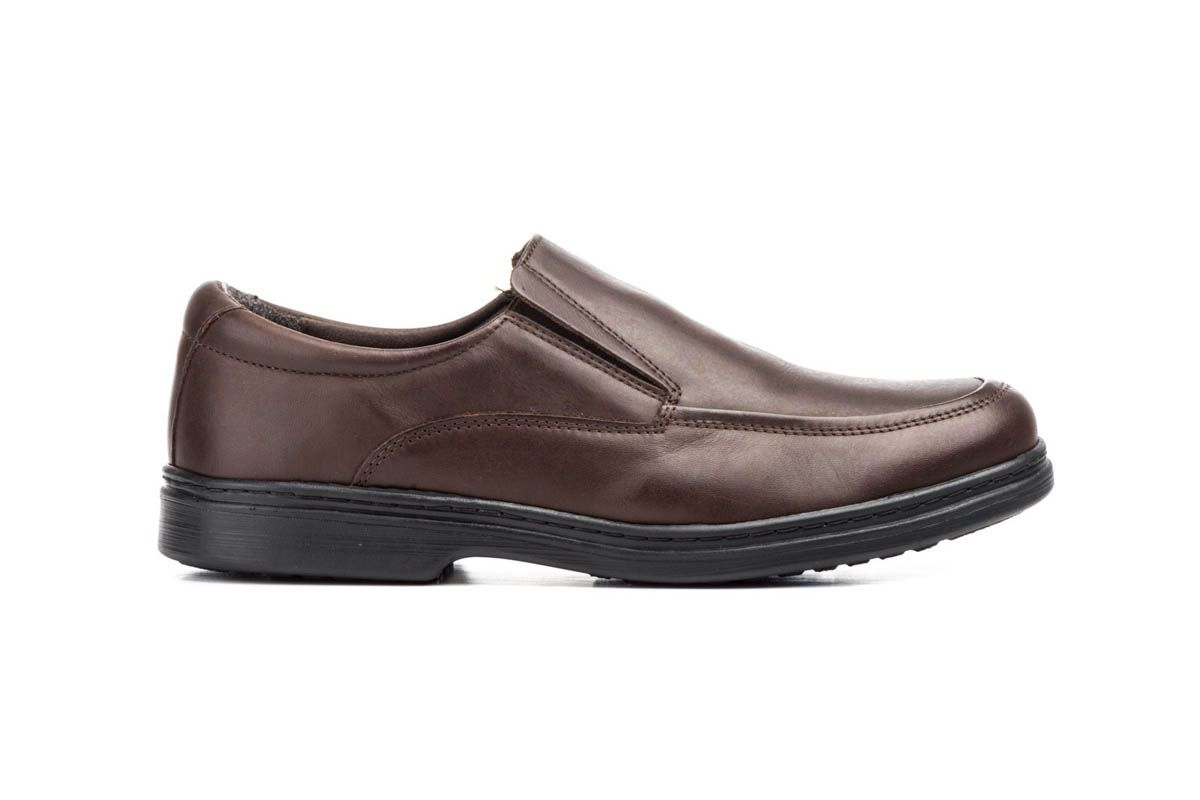 Purapiel Slip-On Moccasin in Brown