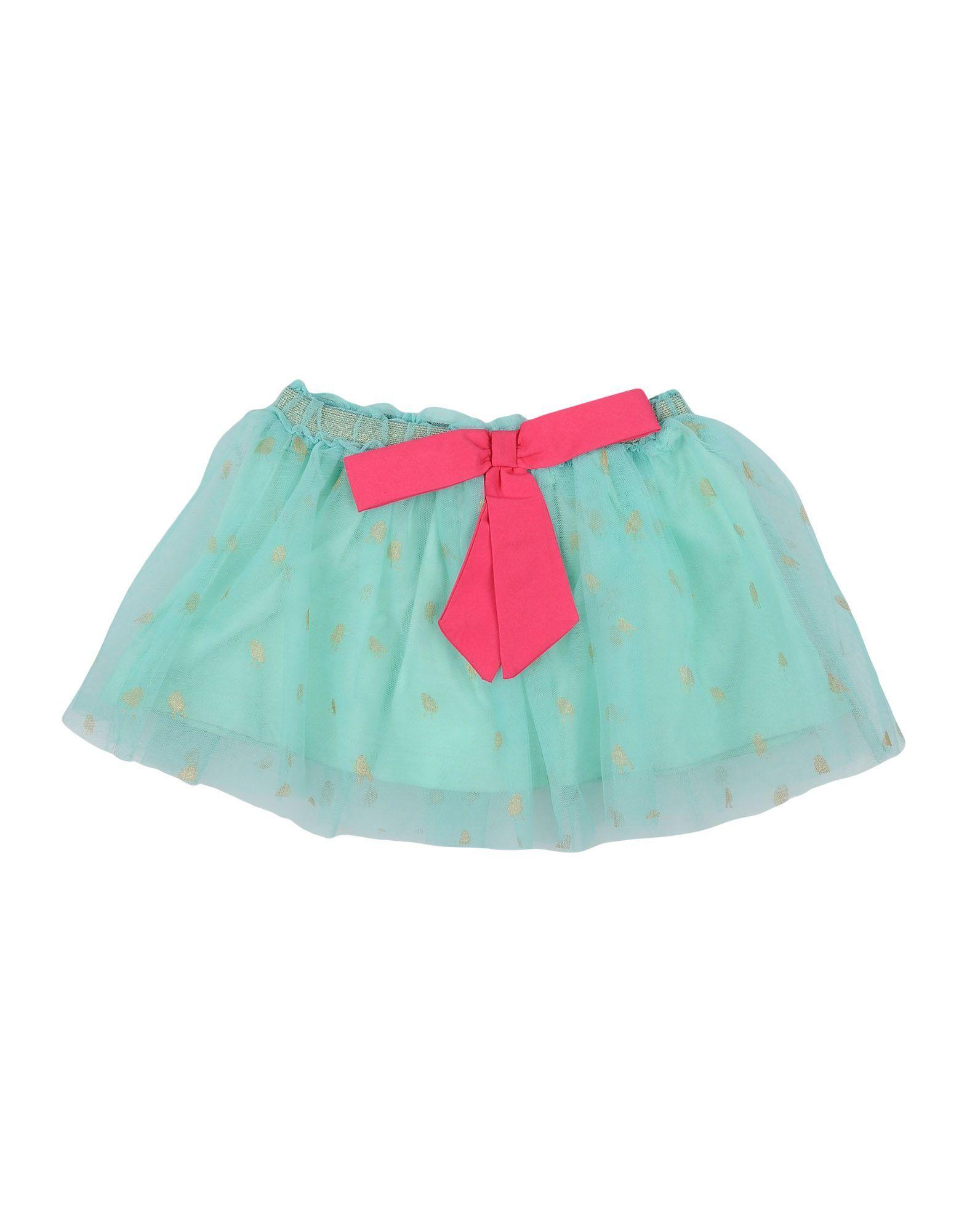 Beetlejuice Green Girls' Nylon Skirt