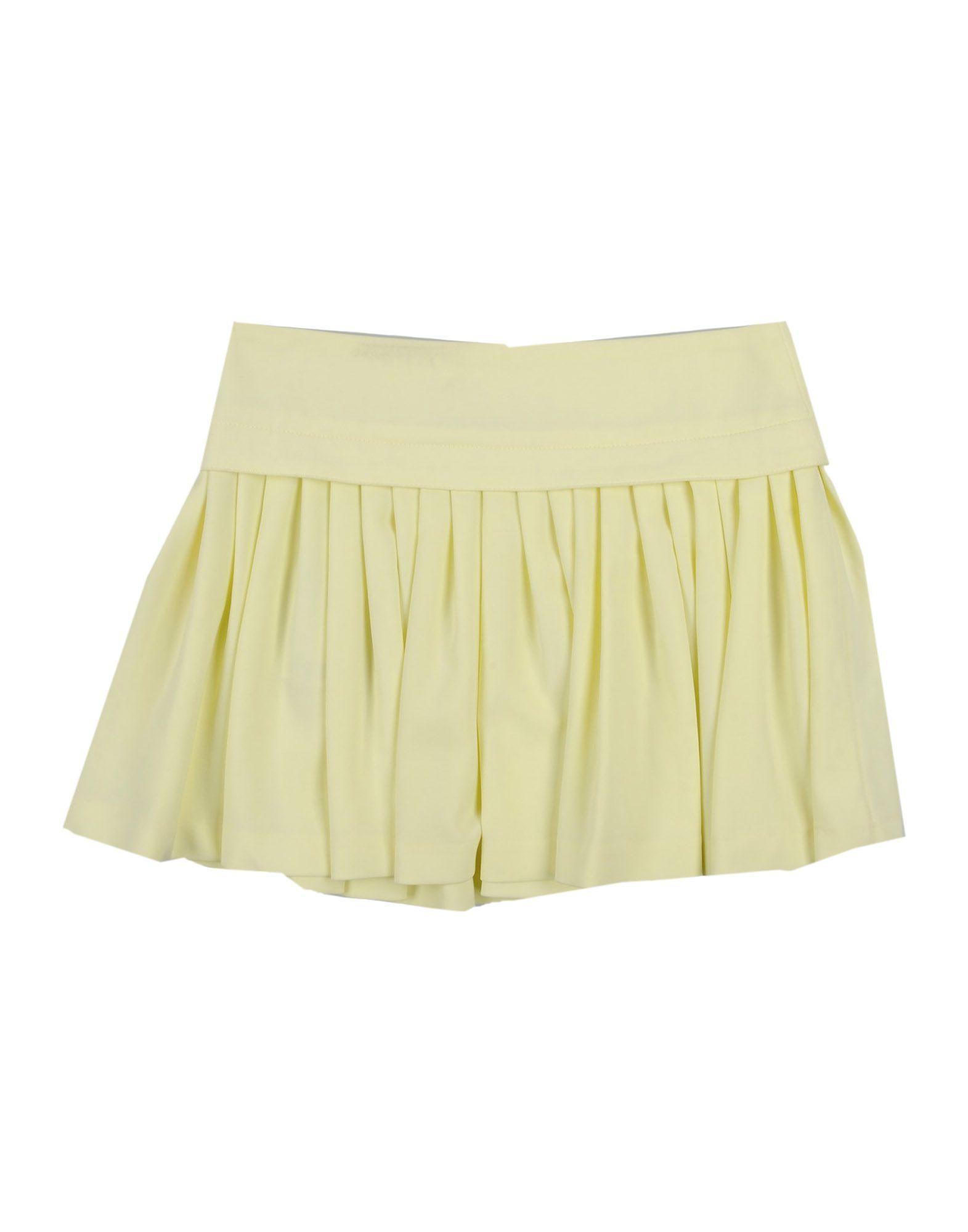 SKIRTS Miss Blumarine Yellow Girl Polyester