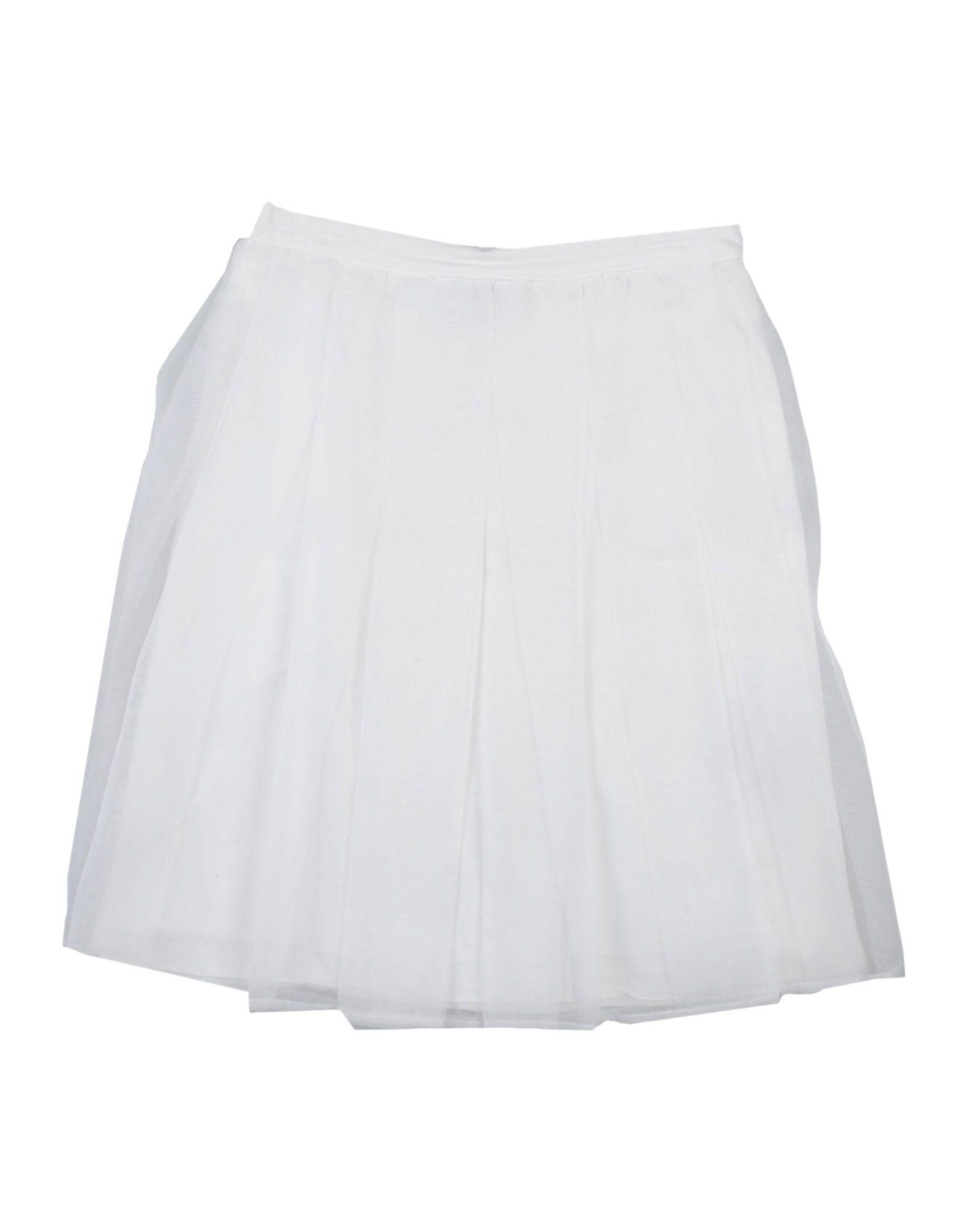 SKIRTS Ki6? Pretty White Girl Polyester