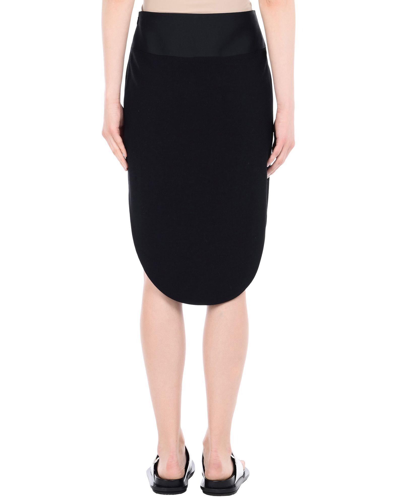 Skirt Maiyet Black Women's Viscose